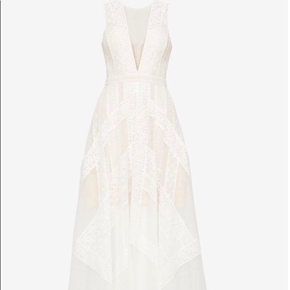 0260127c95adc BCBGMaxAzria Dresses   Bcbg Andi Lace Dress Never Worn White Sz 2 ...
